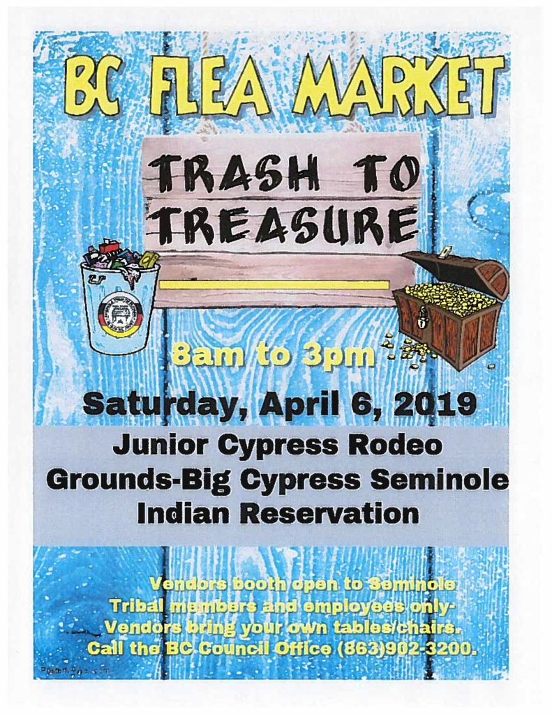 Big Cypress Flea Market @ Junior Cypress Rodeo Grounds